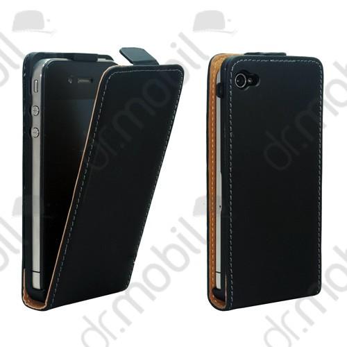 Tok álló Samsung GT-I9195 Galaxy S IV. mini (Galaxy S4 mini) (ultra slim design, rejtett mágneses zár) flip fekete