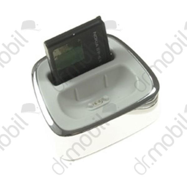 NINCS RAKTÁRON Asztali töltő Nokia 8800 Sirocco dokkoló DT-16 ezüst cd65ab0d34