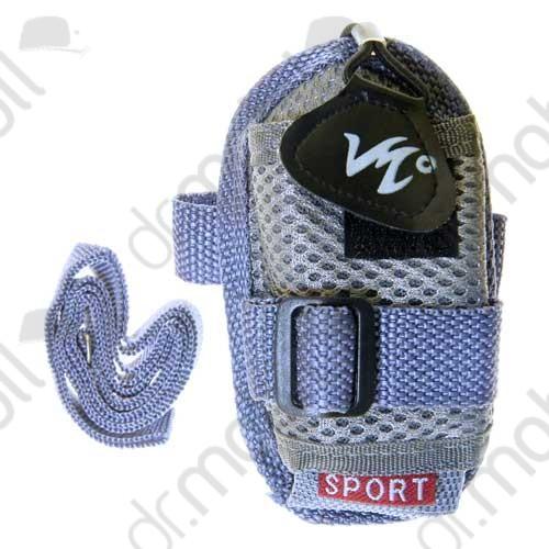 Tok Univerzális Sport világoskék (tépőzáras, nyakba akasztható, karabineres, övrevüzhető)