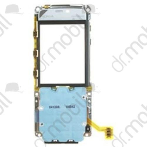 Plexi ablak Nokia 5310 (hangszóró, billentyűzet panellel, fóliával, kijelzőkerettel, oldalgombfóliával) fehér