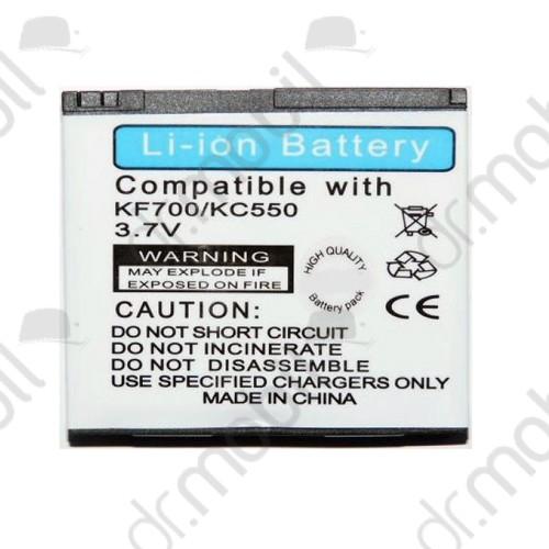 Akkumulátor LG KC550 900mAh Li-ion (LGIP-570A/SBPL0083514/SBPL0094902 kompatibilis)
