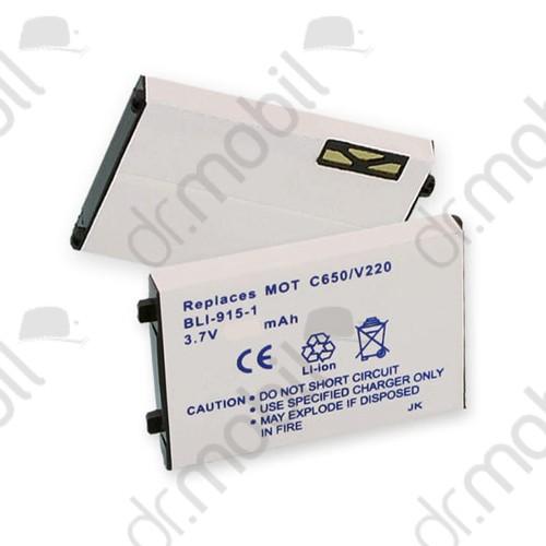 Akkumulátor Motorola C350 750mAh Li-ion (BLS2060/AANN4258A kompatibilis)