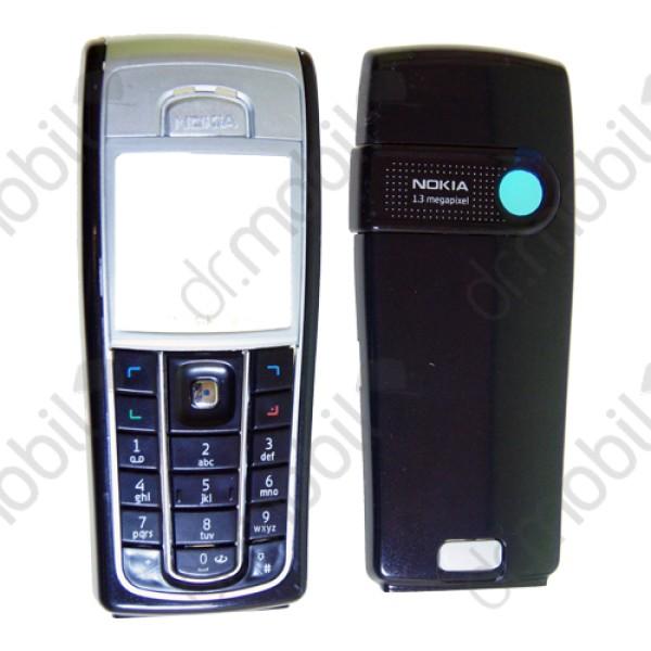 NINCS RAKTÁRON Előlap Nokia 6230i komplett ház fekete - ezüst (utángyártott) 796971cf2d