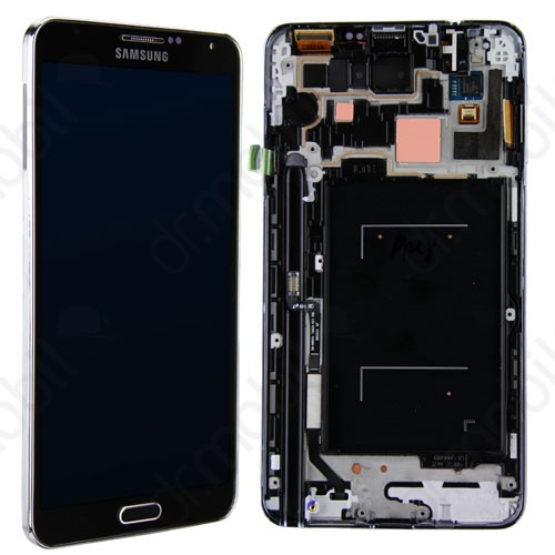 LCD érintőpanel Samsung SM-N9005 Note 3. LTE GH97-15107A fekete