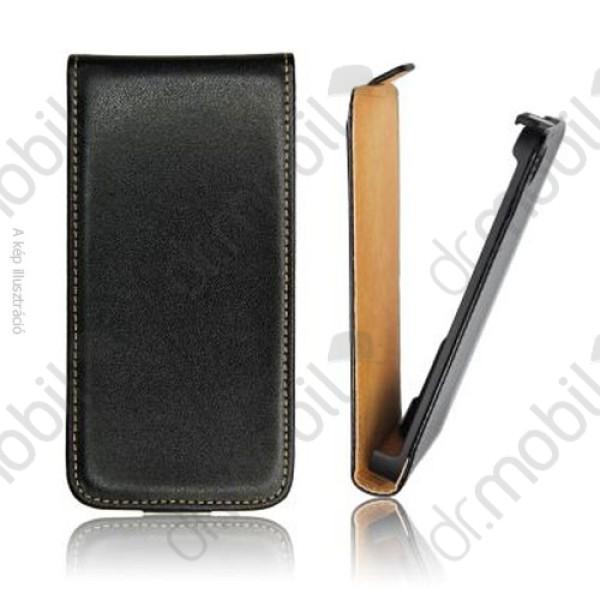 aba2e73a93 Tok álló bőr LG Optimus L4 II. dual (E440) (ultra slim design, rejtett  mágneses zár) flip fekete