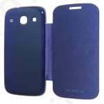 Tok flip cover Samsung GT-I8260 Galaxy Core sötétkék