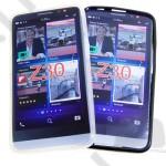 Tok telefonvédő szilikon BlackBerry Z30 fekete - matt