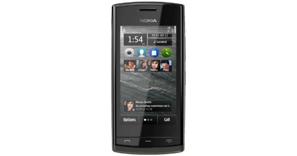 Használt mobiltelefon Nokia 500 fekete (vodafone) e83b2f2c36