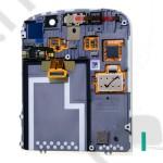 LCD kijelző BlackBerry Q10 (érintőpanel, átvezető fóliával) fehér