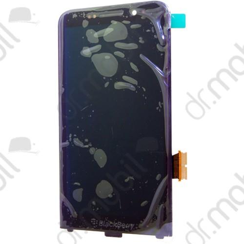 LCD kijelző BlackBerry Z30 (érintőpanel, átvezető fóliával) fekete