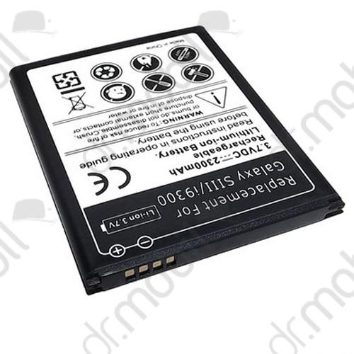 Akkumulátor Samsung GT-I9300 Galaxy S III. 2100mAh Li-ion (EB-L1G6LLUC kompatibilis) Galaxy S3