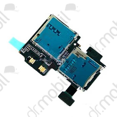 Kártyaolvasó Samsung GT-I9505 Galaxy S IV. (Galaxy S4) sim- és memóriakártya olvasó modul