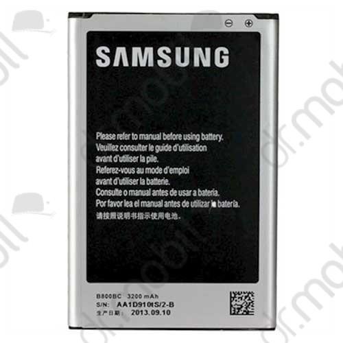 Akkumulátor Samsung SM-N9005 Note 3. 3200 mAh Li-ion (EB-B800BEBEC) cs.nélkül