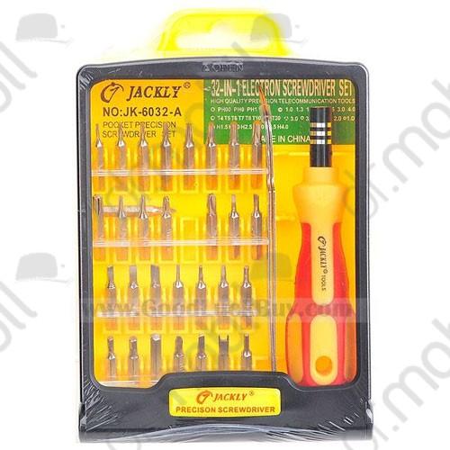 Szerszám csavarhúzó készlet Jackly JK 6032-A 32db-os