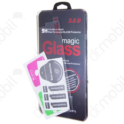 Képernyővédő üveg fólia Apple iPhone 5 / 5C / 5S / SE törlőkendővel (1 db-os, edzett üveg, karcálló, 9H) TEMPERED GLASS