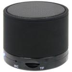 Bluetooth hangszóró S10 matt fekete (kihangosító,fm, mp3 microSD lejátszó)
