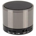 Bluetooth hangszóró S10 fegyvermetál (kihangosító,fm, mp3 microSD lejátszó)