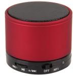 Bluetooth hangszóró S10 matt bordó (kihangosító,fm, mp3 microSD lejátszó)