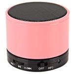 Bluetooth hangszóró S10 pink (kihangosító,fm, mp3 microSD lejátszó)