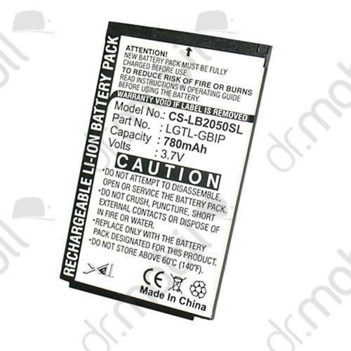 Akkumulátor LG B2050 780mAh Li-ion (LGIP-830/SBPL0077904 kompatibilis)