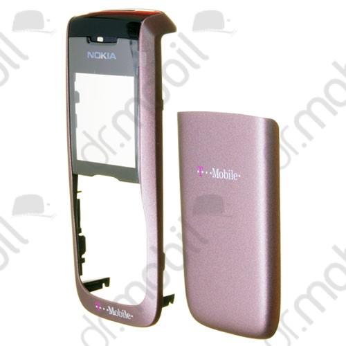 Előlap Nokia 2610 akkufedéllel bordó (t-mbile logós)