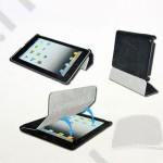 Tok álló Belk iPad Mini (flip, műanyag, asztali tartó funkció, SMART Cover kompatibilis) fehér