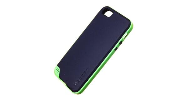 6c8d780b62 Hátlap tok Apple iPhone 5 / 5S Spigen SGP Neo Hybrid Series zöld