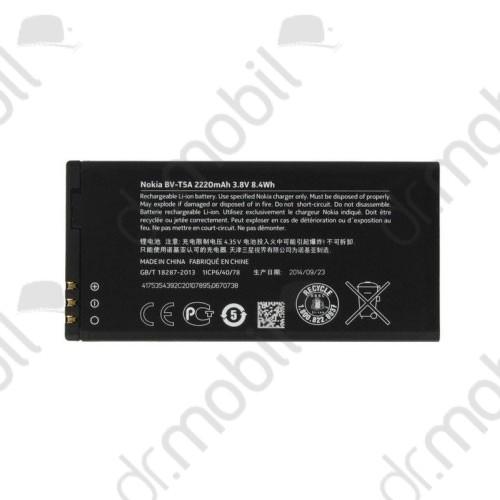 Akkumulátor Nokia Lumia 730 / 735 2200mAh Li-ion BV-T5A / 0670738 cs.nélkül