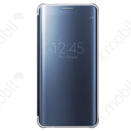 Tok Samsung SM-G928 Galaxy S6. Edge + Clear View Cover EF-ZG928 fekete