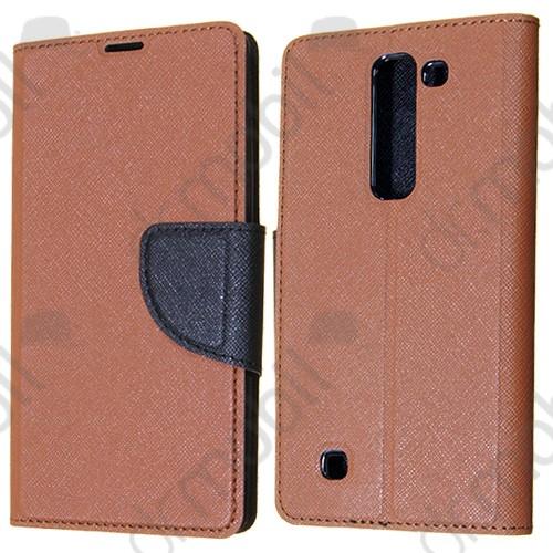 b3f3b93cb0 Tok álló bőr Sony Xperia Z5 Compact (oldala nyitható, mágneses zár szilikon  belsővel)