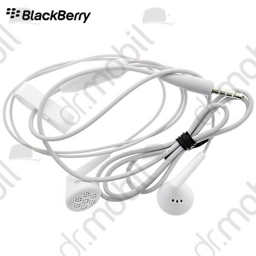 Fülhallgató vezetékes BlackBerry Classic Q20 fehér sztereó, felvevőgombos, 3.5mm HDW-44306-003