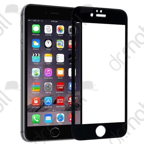 Képernyővédő üveg fólia Apple iPhone 6 / 6S fekete (1 db-os, edzett üveg, karcálló, 9H) Colorful Glass