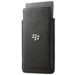 Tok álló, valódi bőr BlackBerry Leap POUCH fekete (ACC-60115-001)