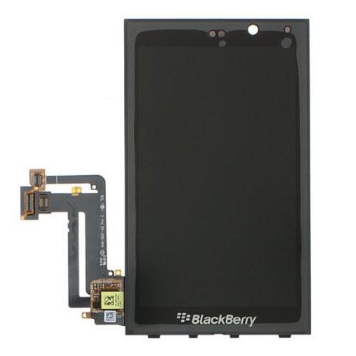 Kijelző BlackBerry Z10 3G - 4G LTE (lcd, érintőpanel, átvezető fóliával) fekete