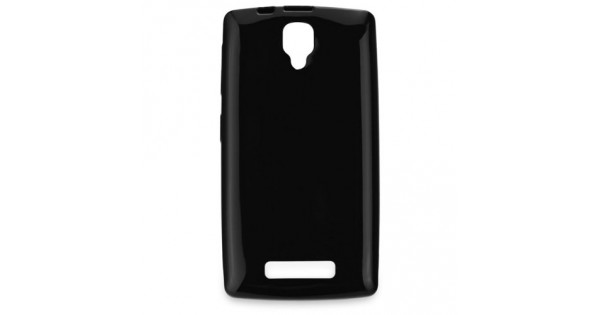 bffb8c06fa Tok szilikon Lenovo A1000 Jelly Candy hátlap tok fekete