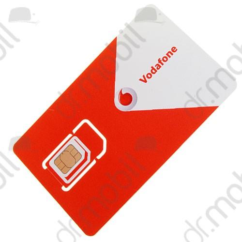 SIM kártya csomag Vodafone feltöltőkártyás díjcsomag (0Ft egyenleg)