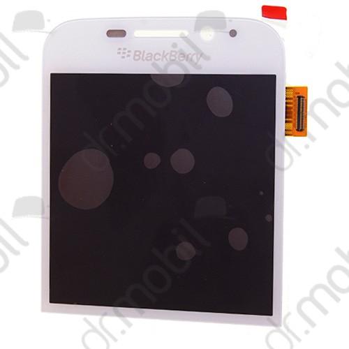 Kijelző előlap BlackBerry Q20 Classic (lcd, érintőpanel, átvezető fóliával) fehér