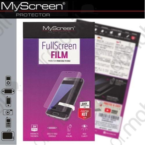 Képernyővédő fólia LG K8 (K435n) (1 db-os, full screen, íves részre, öntapadós PET) CRYSTAL áttetsző