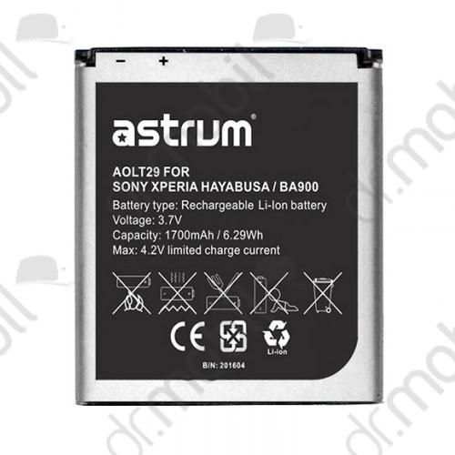 Akkumulátor Sony Xperia M (C1905) Li-ion 1700mAh (BA900 kompatibilis) A73593-B astrum
