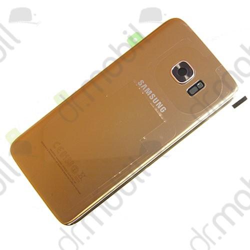 Akkufedél Samsung SM-G935 Galaxy S7 EDGE hátlap arany