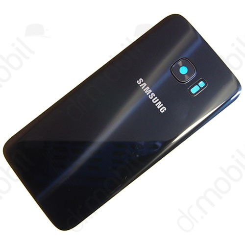 Akkufedél Samsung SM-G935 Galaxy S7 EDGE hátlap fekete