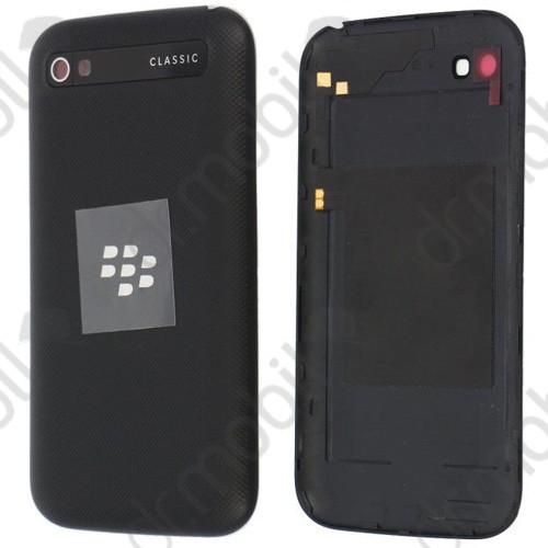 Akkufedél BlackBerry Q20 Classic hátlap fekete