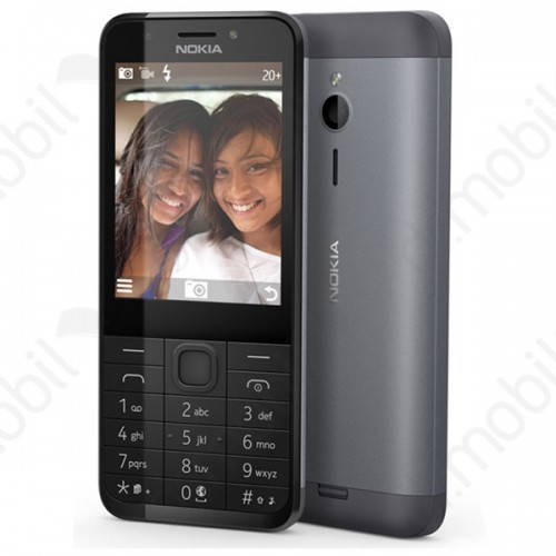Mobiltelefon készülék Nokia 230 DUAL SIM Dark Silver