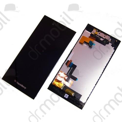 Kijelző BlackBerry Leap (lcd, érintőpanel, átvezető fóliával, proxy, hangszóró és keret) fekete