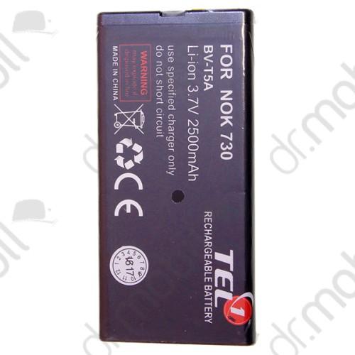 Akkumulátor Nokia Lumia 730 / 735 2500mAh Li-ion (BV-T5A / 0670738 kompatibilis)