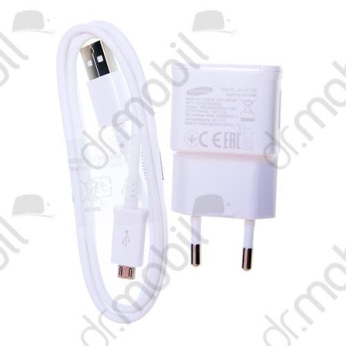 Hálózati töltő adapter + adatkábel Samsung ETA-U90EWE + ECB-DU4EWE 2.0A (micro USB) fehér