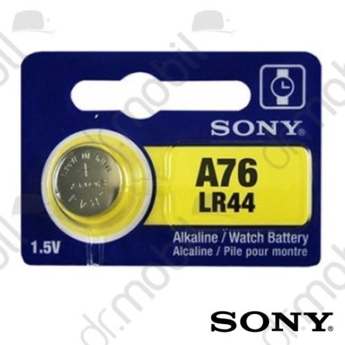 Elem Sony A76,LR44 Alkaline gombelem - 1,5V - 1 db/csomag