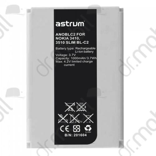 Akkumulátor Nokia 3410 1000mAh Li-ion (BL-C1/BL-C2/BM-C3 kompatibilis) A73551-B astrum