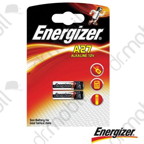 Elem Energizer A27 alkáli elem (MN27)12V Bl/2 - 2 db/csomag