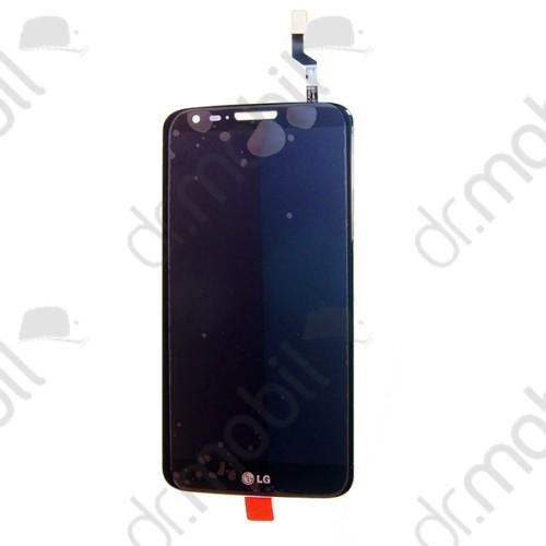 LCD kijelző érintőpanel LG G2 (D802) fekete (keret nélkül)